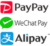 paypay wechatpay alipay